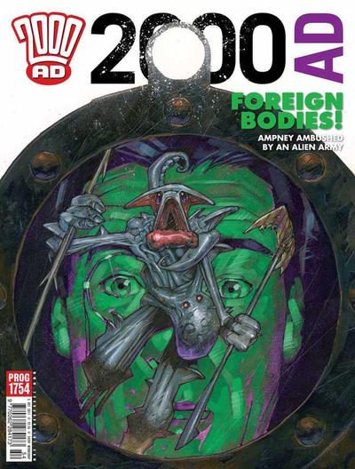 Cover for 2000 AD (Rebellion, 2001 series) #1754