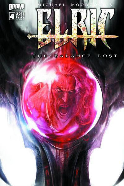 Cover for Elric: The Balance Lost (Boom! Studios, 2011 series) #4 [Cover A]