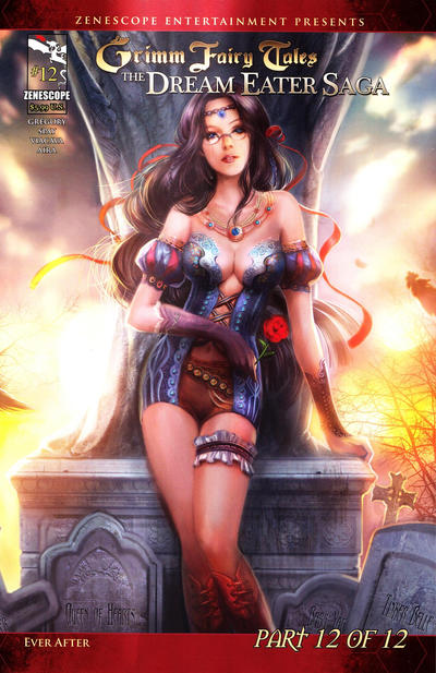 Cover for Grimm Fairy Tales: Dream Eater Saga (2011 series) #12 [Cover B]