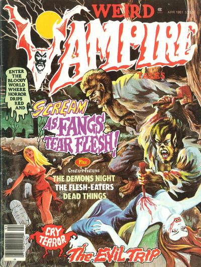 Cover for Weird Vampire Tales (Eerie Publications, 1979 series) #v5#2