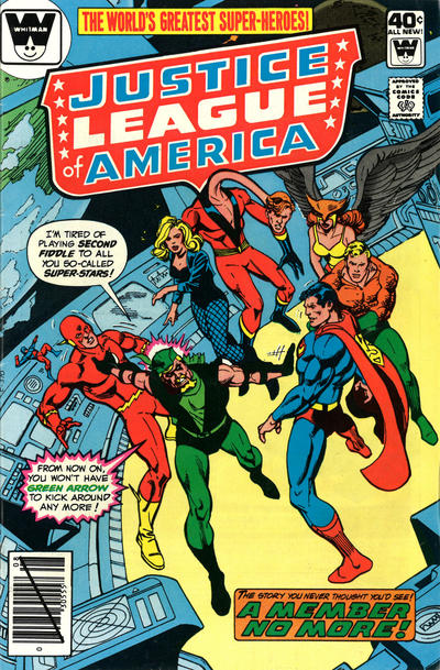 Cover for Justice League of America (DC, 1960 series) #181 [Whitman Variant]