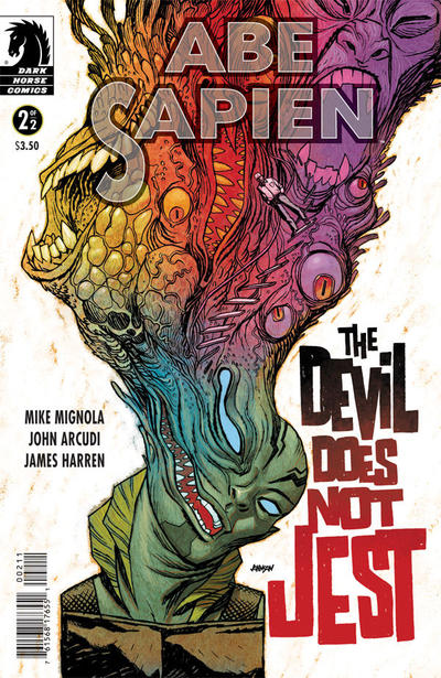 Cover for Abe Sapien: The Devil Does Not Jest (Dark Horse, 2011 series) #2 [10]