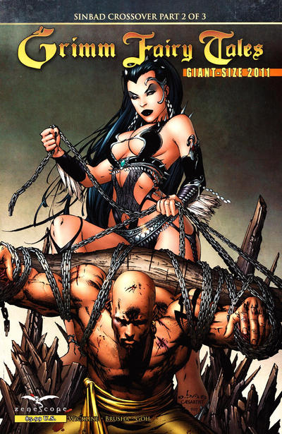 Cover for Grimm Fairy Tales Giant-Size 2011 (Zenescope Entertainment, 2011 series)  [Cover C (New York comic-con exclusive)]