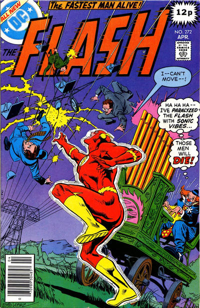 Cover for The Flash (DC, 1959 series) #272 [Pence Variant]