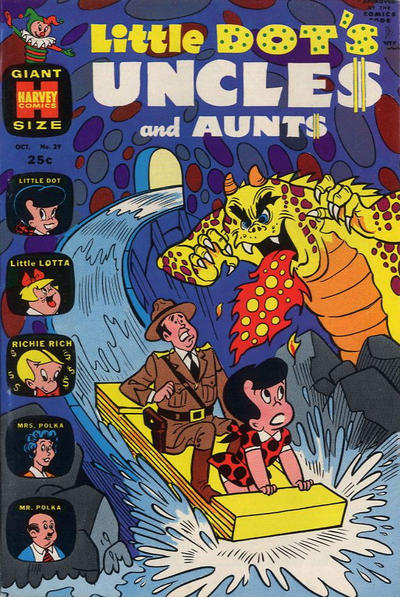 Cover for Little Dot's Uncles and Aunts (Harvey, 1961 series) #29
