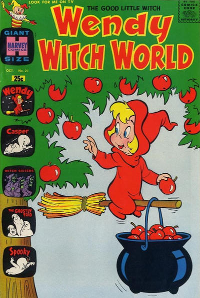 Cover for Wendy Witch World (Harvey, 1961 series) #21