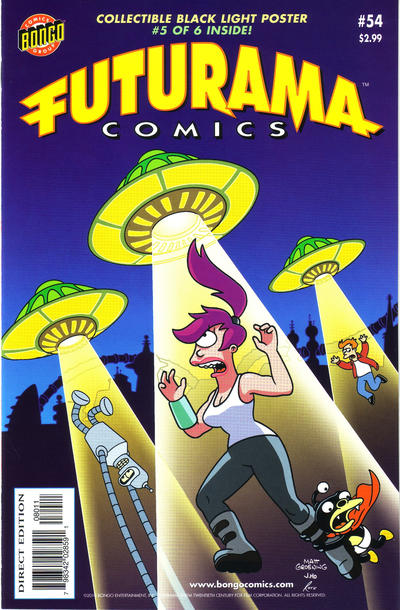Cover for Bongo Comics Presents Futurama Comics (Bongo, 2000 series) #54