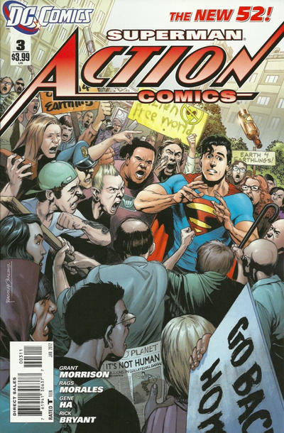 Cover for Action Comics (2011 series) #3 [Incentive Cover Edition]