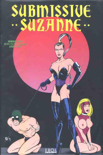 Cover for Submissive Suzanne (Fantagraphics, 1991 series) #3