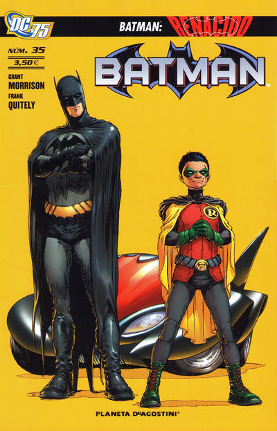Cover for Batman (2007 series) #35