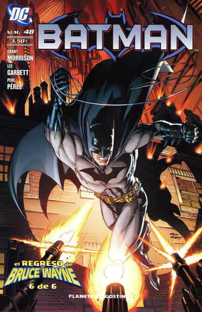 Cover for Batman (Planeta DeAgostini, 2007 series) #48