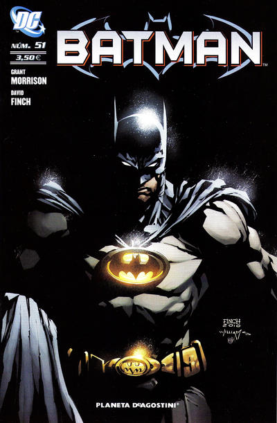 Cover for Batman (Planeta DeAgostini, 2007 series) #51