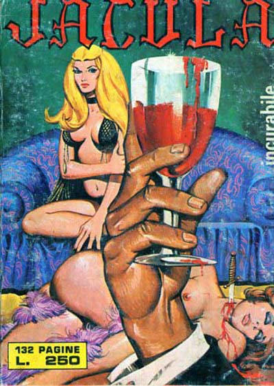 Cover for Jacula (Ediperiodici, 1969 series) #152