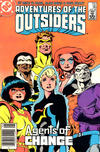 Cover Thumbnail for Adventures of the Outsiders (1986 series) #36 [Newsstand Edition]