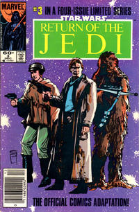 Cover Thumbnail for Star Wars: Return of the Jedi (Marvel, 1983 series) #3 [Newsstand Edition]