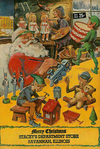 Cover Thumbnail for Merry Christmas (Gilberton, 1969 series) #[nn] [Stacey's Department Store edition]