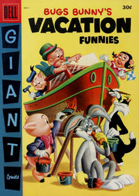 Cover Thumbnail for Bugs Bunny's Vacation Funnies (Dell, 1951 series) #7 [Canadian edition]