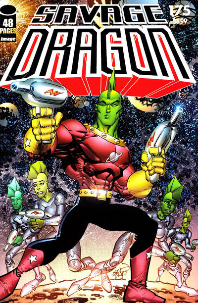 Cover for Savage Dragon (Image, 1993 series) #175