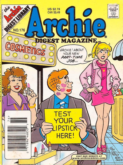 Cover for Archie Comics Digest (1973 series) #176