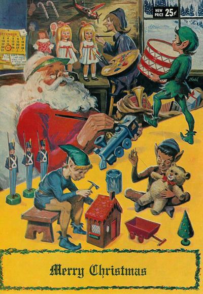 Cover for Merry Christmas (Gilberton, 1969 series) #[nn] [Stacey's Department Store edition]