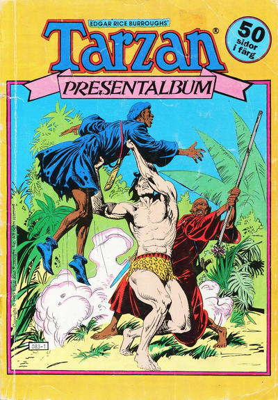 Cover for Tarzan presentalbum (Atlantic Förlags AB, 1978 series) #[1989]