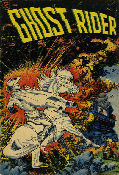 Cover for Ghost Rider (Superior Publishers Limited, 1950 series) #3