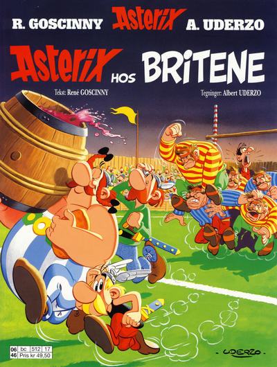 Cover for Asterix (1998 series) #5 - Asterix hos britene [11. opplag]