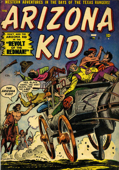 Cover for The Arizona Kid (Superior Publishers Limited, 1951 series) #3