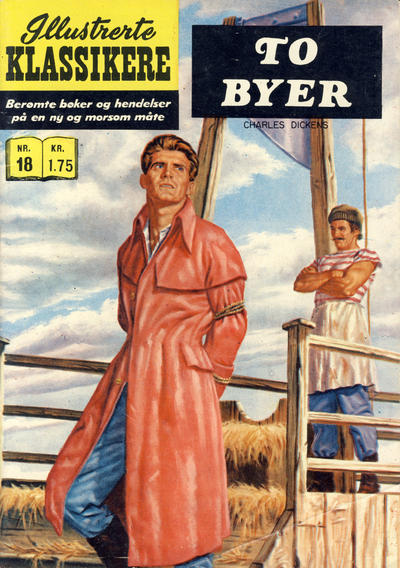 Cover for Illustrerte Klassikere [Classics Illustrated] (Illustrerte Klassikere, 1957 series) #18 [HRN 156] [2. opplag]