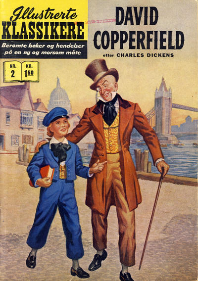Cover for Illustrerte Klassikere [Classics Illustrated] (Illustrerte Klassikere / Williams Forlag, 1957 series) #2 [HRN 61] - David Copperfield