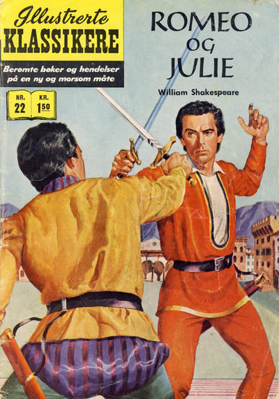 Cover for Illustrerte Klassikere [Classics Illustrated] (1957 series) #22