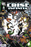 Cover for Crise Infinita (Panini Brasil, 2006 series) #4