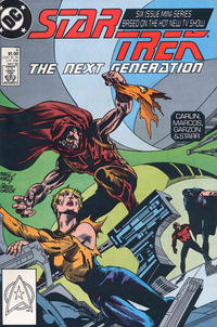 Cover Thumbnail for Star Trek: The Next Generation (DC, 1988 series) #4 [Direct]