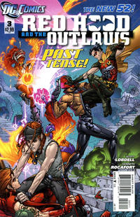 Cover Thumbnail for Red Hood and the Outlaws (DC, 2011 series) #3