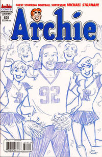 Cover Thumbnail for Archie (Archie, 1959 series) #626 [Dan Parent blue pencils]