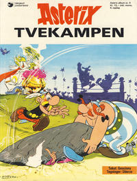 Cover Thumbnail for Asterix (Hjemmet, 1969 series) #4 - Tvekampen [4. opplag]