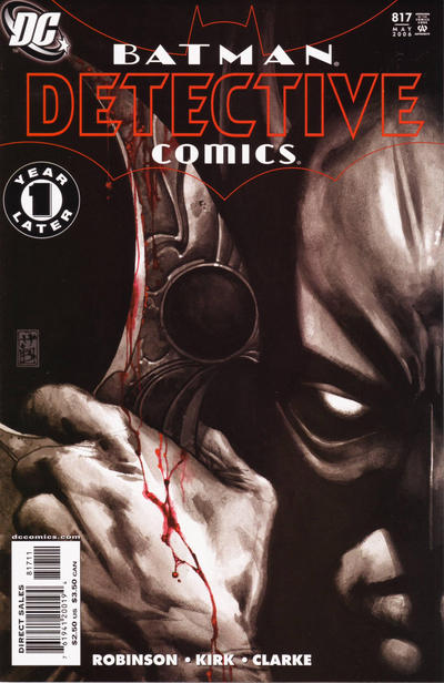 Cover for Detective Comics (1937 series) #817 [1st Printing - Newsstand]