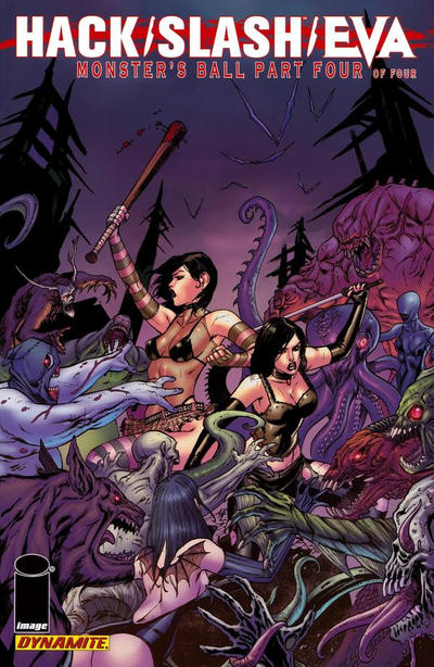 Cover for Hack/Slash/Eva: Monster's Ball (Dynamite Entertainment, 2011 series) #4