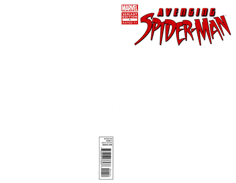 Cover for Avenging Spider-Man (2012 series) #1 [Direct Market Variant Cover by Humberto Ramos]