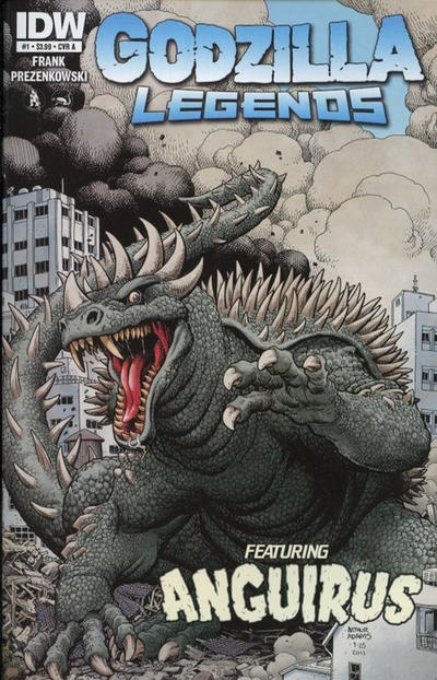 Cover for Godzilla Legends (2011 series) #1 [Cover C]