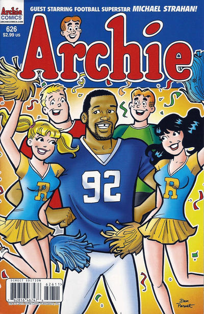 Cover for Archie (Archie, 1959 series) #626 [Dan Parent blue pencils]