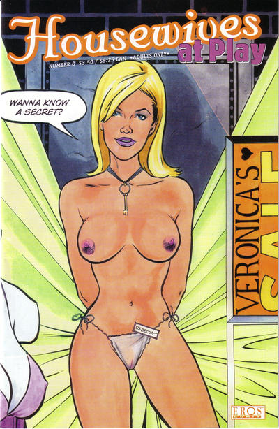 Cover for Housewives at Play (Fantagraphics, 1999 series) #8