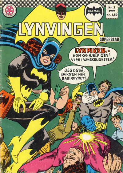 Cover for Lynvingen (Se-Bladene, 1966 series) #3/1969