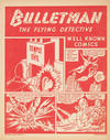 Cover for Bulletman the Flying Detective [Well Known Comics] (Fawcett, 1942 series)