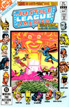 Cover Thumbnail for Justice League of America (1960 series) #208 [Direct Sales (Comic Book Stores)]