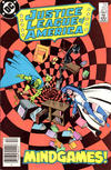 Cover Thumbnail for Justice League of America (1960 series) #257 [Newsstand Edition]