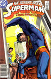 Cover Thumbnail for Adventures of Superman (1987 series) #439 [Newsstand Edition]