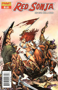 Cover Thumbnail for Red Sonja (Dynamite Entertainment, 2005 series) #11 [Pablo Marcos Cover]