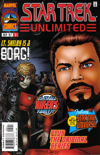 Cover Thumbnail for Star Trek Unlimited (Marvel, 1996 series) #5 [Direct Edition]