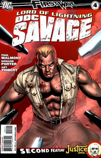 Cover for Doc Savage (DC, 2010 series) #4 [Direct Market Variant by John Cassidy]